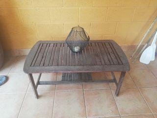 mesa patio o jardín madera