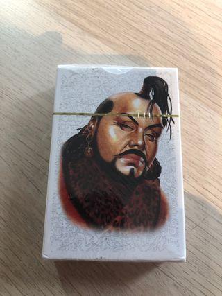 Baraja cartas -Naipes Mongolia