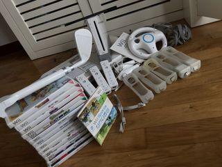 Wii + Accesorios + Juegos