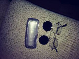 gafas y funda