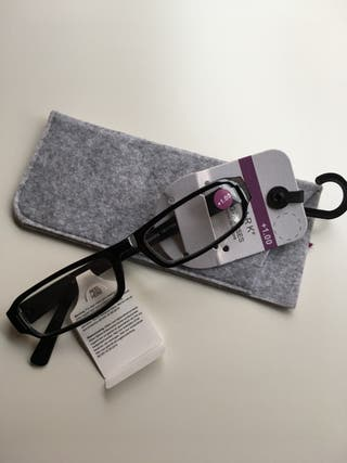 Gafas lectura +1.00 con estuche Primark
