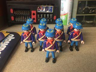 Soldados nordistas playmobil