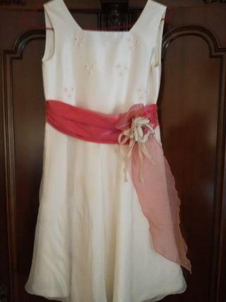 Vestido para ceremonia niñas