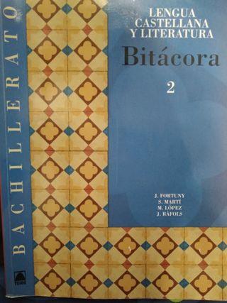 Libro de Texto 2n Bachillerato: Lengua Castellana