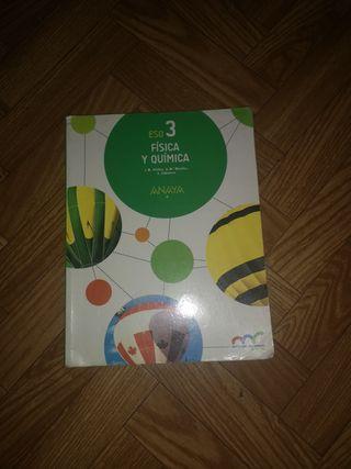 libro FISICA Y QUIMICA 3 ESO ANAYA
