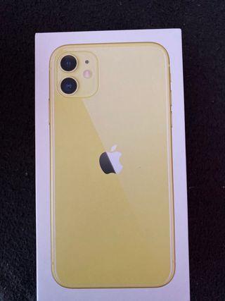 Vendo iPhone 11 amarillo