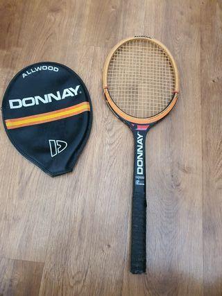 raqueta madera donnay bjorn borg