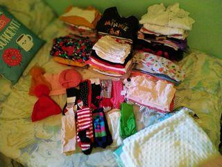 Lote d ropa bebé niña