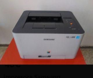 última semana impresora Samsung
