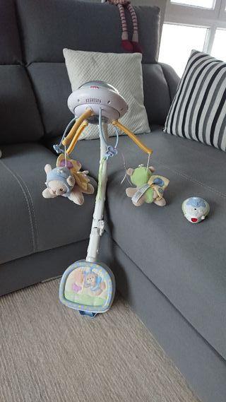 juguete Cuna protector y música bebe
