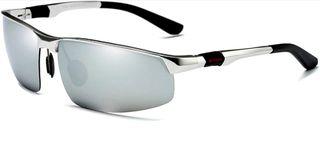 Gafas de sol polarizadas con montura de aluminio