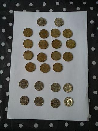 colección monedas dolar