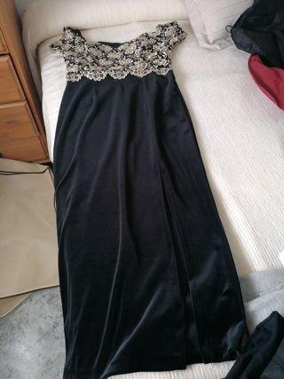 Vestido de fiesta Zara de segunda mano en Mataró en WALLAPOP