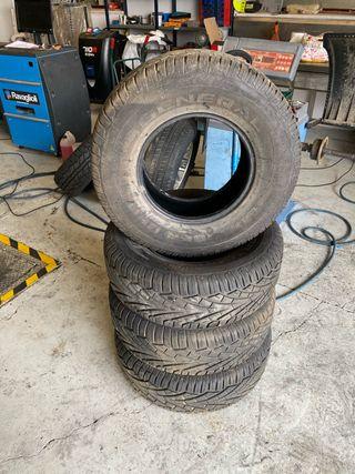 Neumáticos todo terreno 4x4