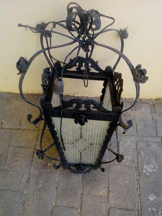 Lámparas hierro forjado