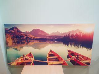cuadro barcas
