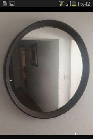 espejo redondo 69 cm.