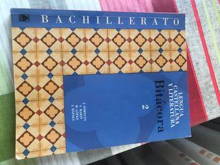 Libro lengua castellana de bachillerato
