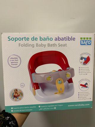 Soporte baño abatible bebé