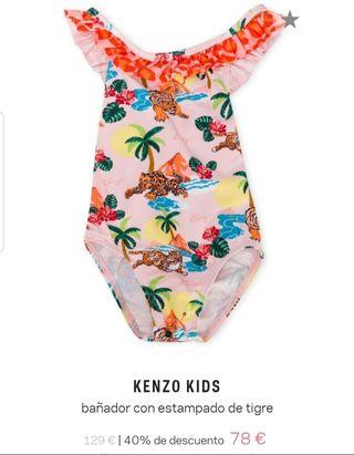 Bañador bebé niña KENZO NUEVO!!