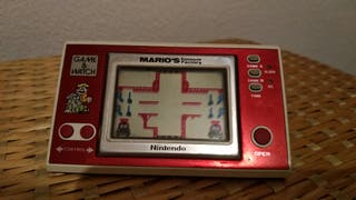 Game & watch mario cement factory