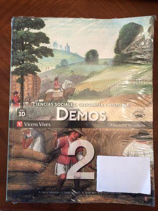 Libro Ciencias Sociales, Geografía e Historia 2ESO