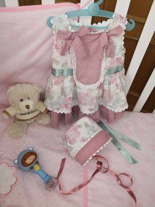 Vestido Dolce Petit 12 meses