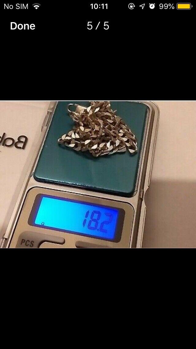 Silver chain 18.2g