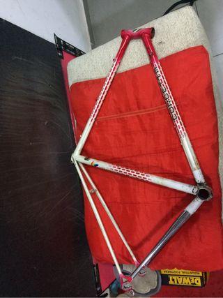 Cuadro de bicicleta italiana