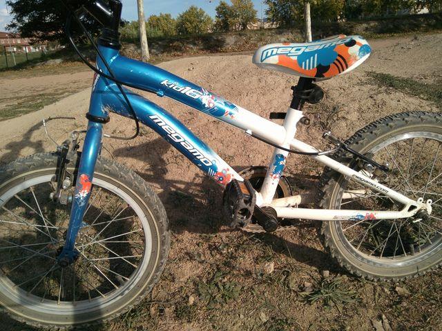 Bicicleta Megamo Kids16