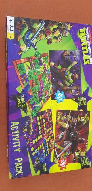 Juegos de mesa Tortugas ninja