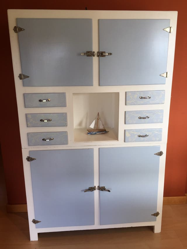 Mueble de cocina antiguo restaurado de segunda mano por 220 ...