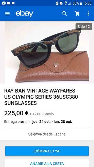 Rayban vintage wayfares US Olimpic Series