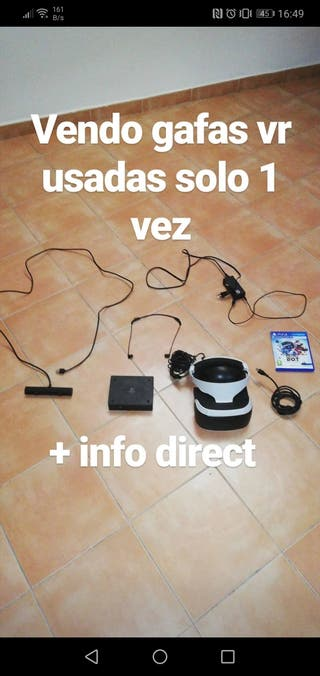 Gafas de Realidad Virtual para Ps4