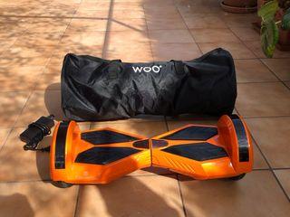 Hoverboard con caja, bolsa y mando a distancia
