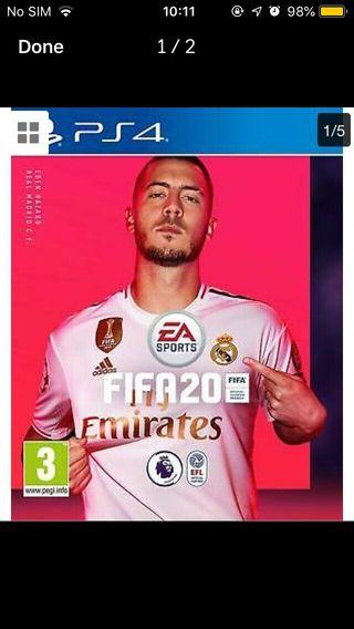 BRAND NEW SEALED FIFA 20 PS4/XBOX1