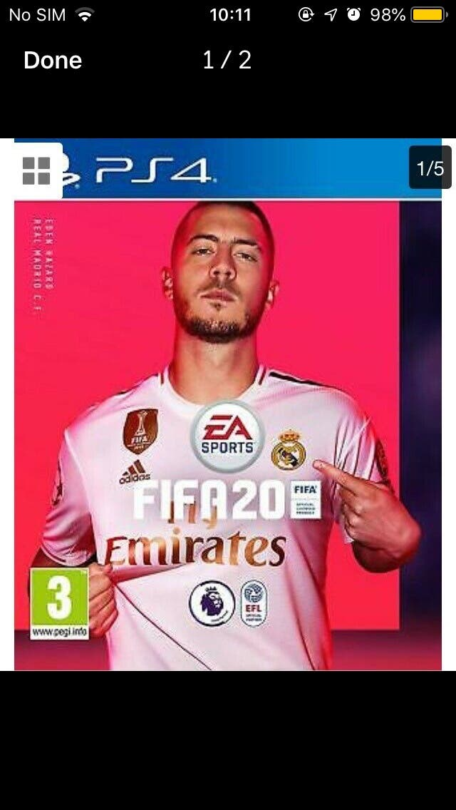 BRAND NEW SEALED FIFA 20 PS4/XBOX1