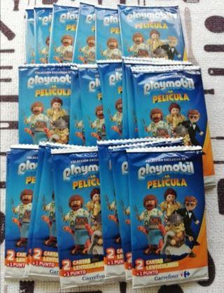 30 sobres cartas Playmobil