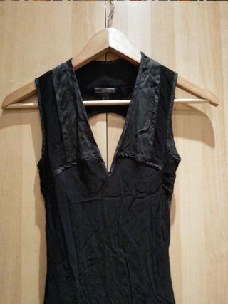 Vestido Mango Negro Nuevo
