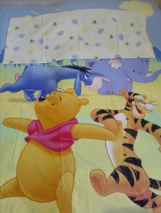Funda nórdica +funda almohada Winnie the Pooh