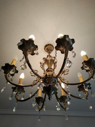 lampara 8 brazos