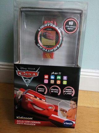 Reloj Cars 3.Digital Juegosy cámara. Ideal regalo.
