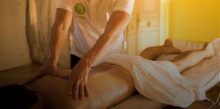 se hacen masajes en casa