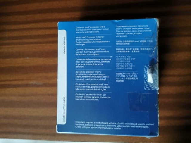 Procesador i5-6400 y placa base MSI Z170A