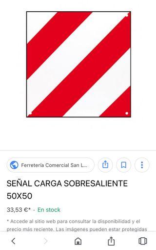 Señal 50x50 Señal Carga 2019