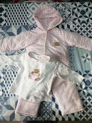 Conjunto de abrigo para bebé talla 18 meses