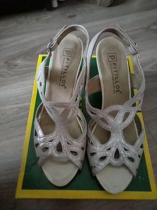zapatos novia o fiesta 39