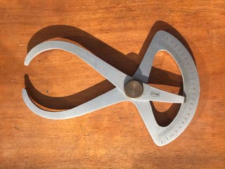 Medidor espesores analógico Mauser