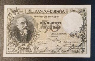BILLETE 100 PESETAS 1905 ECHEGARAY
