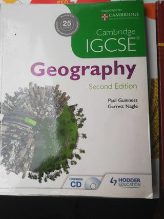 Libro Geografía IGCSE + cd